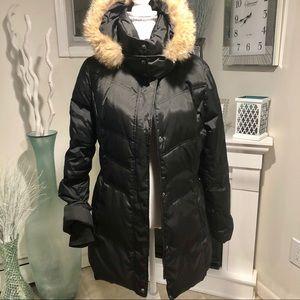 Andrew Marc New York Down Jacket Coyote Fur Hood